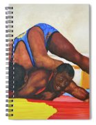 The Wrestlers Spiral Notebook