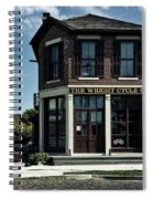 The Wright Cycle Company - Dayton Ohio Spiral Notebook