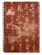 The Writings Of Lu Xun With Reflection Of Man Spiral Notebook