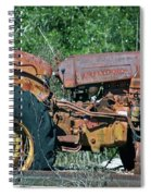 The Wrong Side Of The Tracks Spiral Notebook