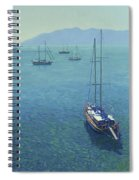 The Yachts Spiral Notebook