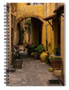 The Yellow Archway Spiral Notebook