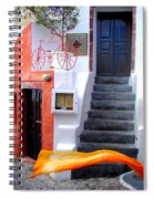 The Yellow Scarf Spiral Notebook