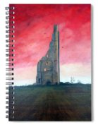 The Yellow Steeple Spiral Notebook