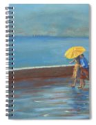 The Yellow Umbrella Spiral Notebook