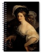 The Young Courtesan Spiral Notebook