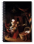 The Young Mother 1660 Spiral Notebook