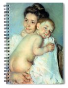 The Young Mother Spiral Notebook