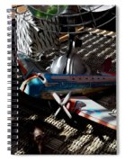The Zebra In Colour Spiral Notebook
