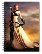 The,archer, Spiral Notebook