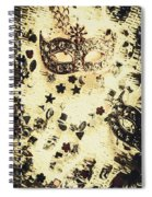 Theater Fun Art Spiral Notebook