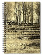 Theater Seating Spiral Notebook