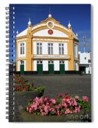 Theatre In Ribeira Grande, Azores Spiral Notebook