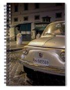 The Fiat 500 Spiral Notebook