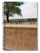 Their Name Liveth For Evermore Spiral Notebook