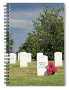 Their Wives Are With Them In Arlington Spiral Notebook