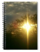 Then There Was Light Spiral Notebook