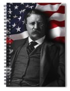 Theodore Roosevelt 26th President Of The United States Spiral Notebook
