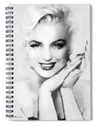 Theo's Marilyn 133 Bw Spiral Notebook