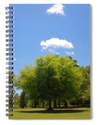 There Are Some Clouds Spiral Notebook