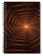 There Is Light At The End Of The Tunnel Spiral Notebook