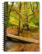 There Is Peace - Allaire State Park Spiral Notebook