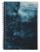 There When I Need You- Abstract Art By Linda Woods Spiral Notebook