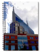 There Where Modern And Old Architecture Meet Spiral Notebook
