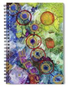 There's Always A Blue Thread Through It Spiral Notebook