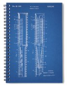 Thermojet Engine Patent Spiral Notebook