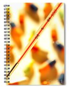 Thermometer Whigh Fever Spiral Notebook