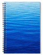 These Are Water Reflections In Lake Spiral Notebook