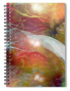 Theta Brain Waves Spiral Notebook