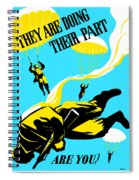 They Are Doing Their Part - Are You Spiral Notebook