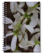 They Bloom They Dance Spiral Notebook