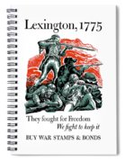 They Fought For Freedom - We Fight To Keep It Spiral Notebook