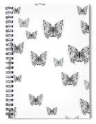 They Might Be Butterflies Spiral Notebook
