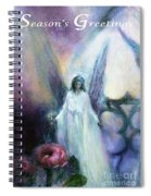 They Wait, Seasons Greetings Spiral Notebook