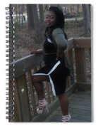 Thic B 4 Spiral Notebook