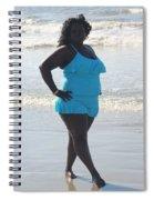 Thick Beach 14 Spiral Notebook