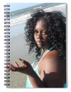 Thick Beach 17 Spiral Notebook