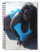 Thick Beach 4 Spiral Notebook