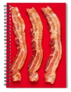 Thick Cut Bacon Served Up Spiral Notebook