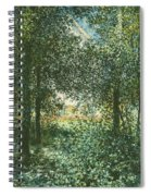 Thicket  The House Of Argenteuil Spiral Notebook