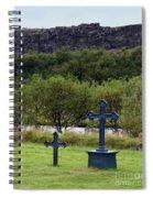 Thingvellir Church Cemetery, Iceland Spiral Notebook