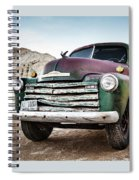 Thinking Back Spiral Notebook