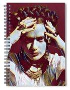 Thinking Frida Spiral Notebook