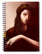 Thinking Of Yellow Tulips Spiral Notebook