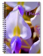 Thinking Of You Wisteria Spiral Notebook