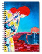 Thinking Woman Spiral Notebook